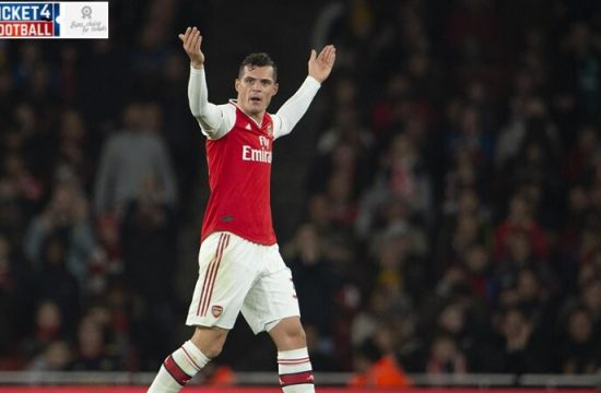 Premier League: Unai Emery reveals how Arsenal Chief Reacted to disgusting Granit Xhaka eruption