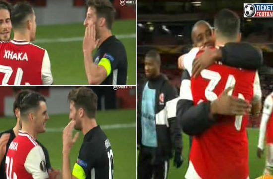 Xhaka laughing after losing the match from Frankfurt and fans are furious about this act. Purchase Arsenal Tickets to enjoy stunning performances.