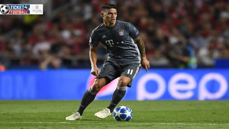 James David Rodriguez Rubio, commonly known simply as James, is a Colombian professional footballer who plays as an attacking midfielder or winger for Spanish club Real Madrid, and the Colombia national team. Purchase Arsenal Tickets to enjoy its stunning performances.